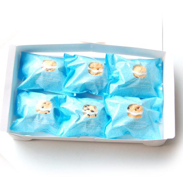 スコーンクリームサンド6P包装